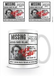 Stranger Things Missing Barb Mug