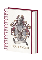 Outlander Knight Crest A5 Notebook