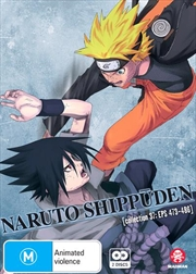 Naruto Shippuden - Collection 37 - Eps 473-486 | DVD
