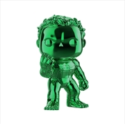 "Avengers 4: Endgame - Hulk Green Chrome 6"" US Exclusive Pop! Vinyl [RS]"