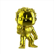 "Avengers 4: Endgame - Hulk Yellow Chrome 6"" US Exclusive Pop! Vinyl [RS]"