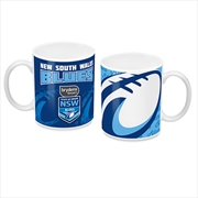 2019 State of Origin NSW New South Wales Blues Ceramic Coffee Mug