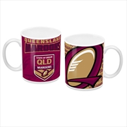 2019 State of Origin QLD Queensland Maroons Coffee Mug