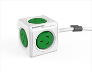 PowerCube  Extended 3.0m Surge - Green