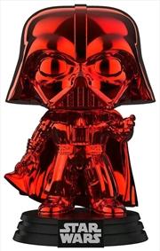 Star Wars - Darth Vader Red Chrome US Exclusive Pop! Vinyl [RS] | Pop Vinyl