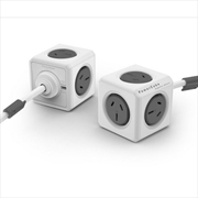 Powercube Extended 3.0m Surge - Grey