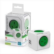 Powercube Original USB Surge - Green
