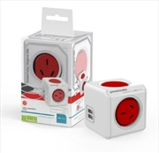 Powercube Original USB Surge - Red