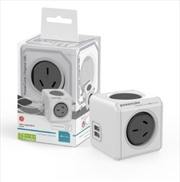 Powercube Original USB Surge - Grey