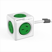 Powercube Extended 1.5m Surge - Green