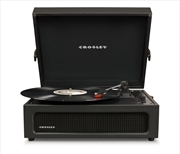 CROSLEY Voyager Portable Turntable W Crate - Black