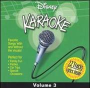 Disney Karaoke - Vol 3 | CD