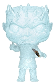 Game of Thrones - Crystal Night King with Dagger Pop! Vinyl | Pop Vinyl