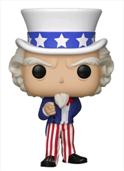 Ameircan History - Uncle Sam US Exclusive Pop! Vinyl [RS]