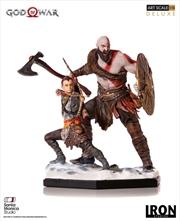 God of War (2018) - Kratos & Atreus 1:10 Scale Statue   Merchandise