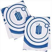 Tardis Tea Towel Set Of 2