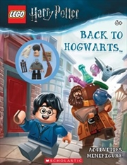 Lego Harry Potter: Back to Hogwarts Activity Book + minifigure