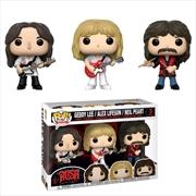 Rush - Geddy Lee, Alex Lifeson & Neil Peart Pop! Vinyl 3-pack [RS]