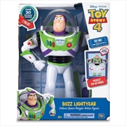 "Toy Story 4 Buzz Lightyear 12"" Deluxe Talking Toy 