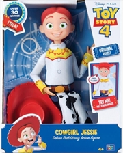 "Toy Story Cowgirl Jessie 14"" Deluxe Talking Toy"
