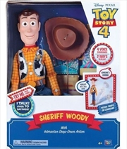 "Toy Story Sheriff Woody 16"" Feature Talking Toy"