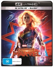 Captain Marvel | Blu-ray + UHD (BONUS POSTER)