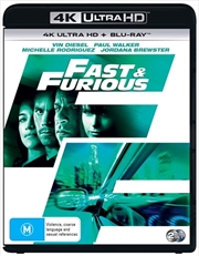 Fast and Furious | Blu-ray + UHD