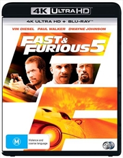 Fast And Furious 5 | Blu-ray + UHD