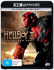 Hellboy II - The Golden Army | Blu-ray + UHD