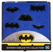 Batman - Batman Emblem Black Chrome Pin Collection