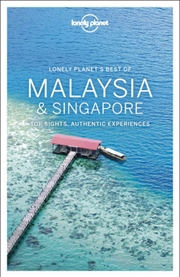 Lonely Planet Travel Guide - Best Of Malaysia And Singapore