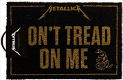 Metallica Doormat - Dont Tread On Me | Merchandise