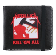 Metallica Wallet - Kill Em All  (Seek And Destroy) | Apparel