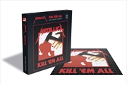 Metallica Puzzles - Kill Em All: 500pcs