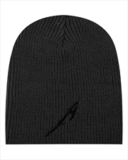 Metallica Beanie - Glitch M Circle: Charcoal | Apparel