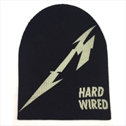 Metallica Beanie - Hardwired | Apparel