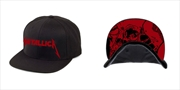 Metallica Red Damage Inc: Snapback Hat | Apparel