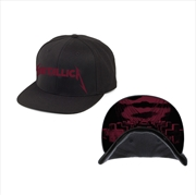 Metallica Mop Cover: Snapback Hat | Apparel