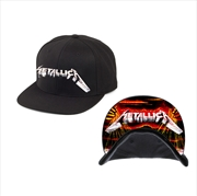 Metallica Mop Cover: Peak: Snapback Hat | Apparel