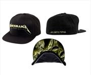 Metallica Justice Glow: Snapback Hat | Apparel