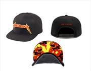 Metallica Jump In The Fire: Snapback Hat | Apparel