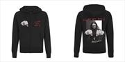 Metallica - Cliff Burton Fist: Sweatshirt: M