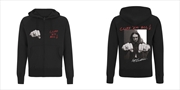 Metallica - Cliff Burton Fist: Sweatshirt: S