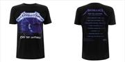 Metallica - Ride The Lightning: Tshirt: XL