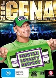WWE - John Cena - Hustle, Loyalty, Respect | DVD
