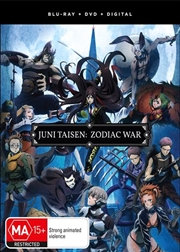 Juni Taisen - Zodiac War - Season 1 - Eps 1-12 | Blu-ray + DVD