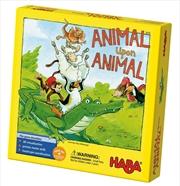 Animal Upon Animal Stacking Game