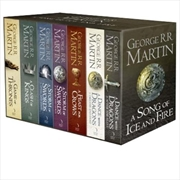 Game Of Thrones A Song Of Ice & Fire Boxset | Paperback Book