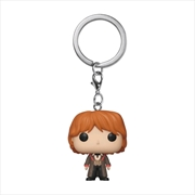 Harry Potter - Ron Weasley Yule Pocket Pop! Keychain | Pop Vinyl