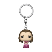 Harry Potter - Hermione Granger Yule Pocket Pop! Keychain | Pop Vinyl